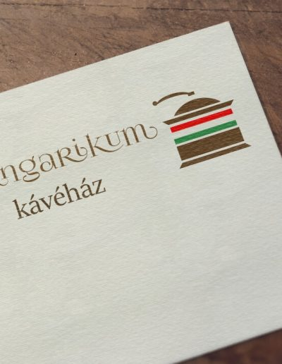Hungarikum Kávéház logóterv 2