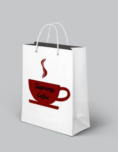 Supremo Coffee logóterv 2