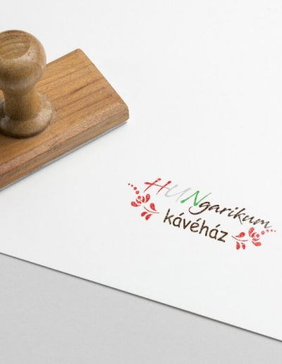 Hungarikum Kávéház logóterv 1
