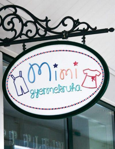 Mimi gyermekruha logóterv 1