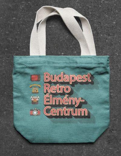 Budapest Retro Élménycentrum szövettáska